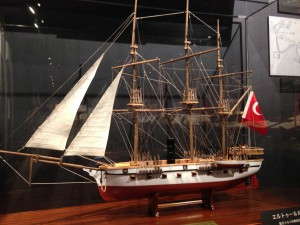 エルトゥールル号模型